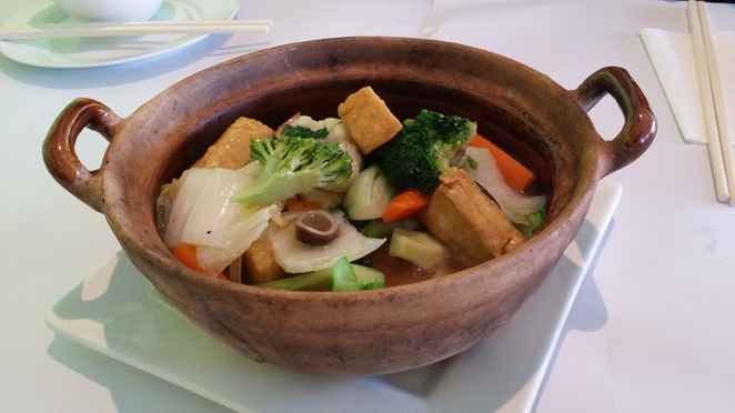 New Century Restaurant, Vegetarian Hot Pot, Adelaide