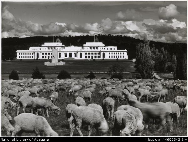 old parliament house, canberra, canberra tracks, limestone plains, history, ACT,