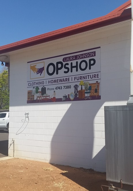 Op shop, Mt Isa, shopping, second hand items, bargain