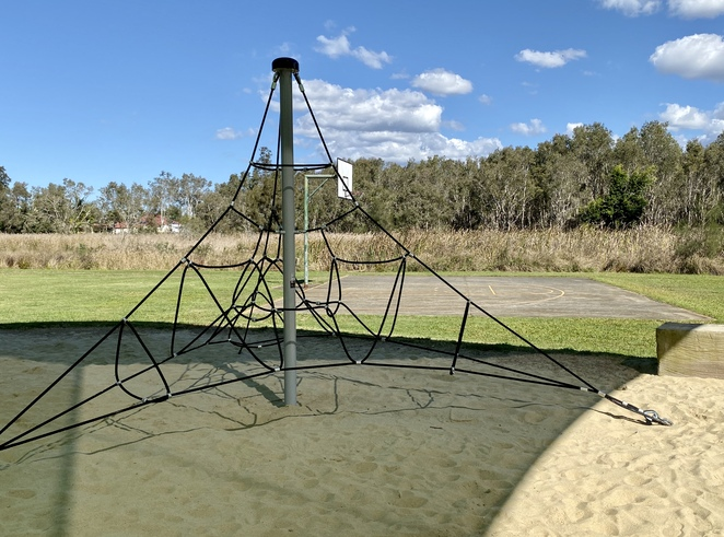 Although small and quiet, Orana Street Park has lots of options for active families