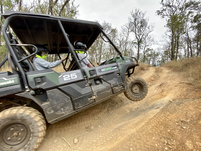These easy to drive 4x4 buggies provided an amazingly fun family day out