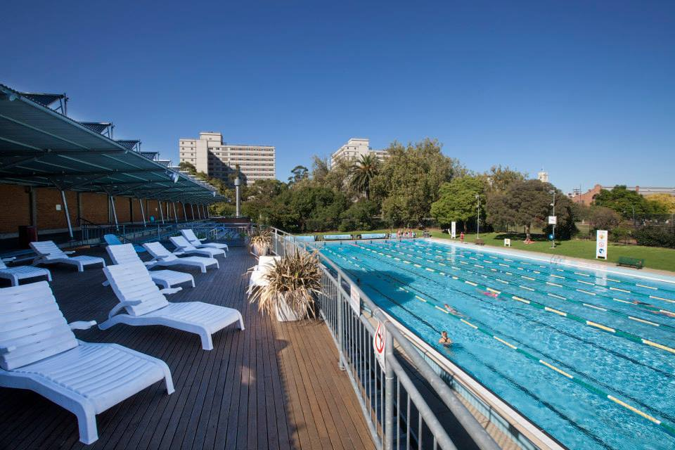Summer Season At Prahran Aquatic Centre Melbourne
