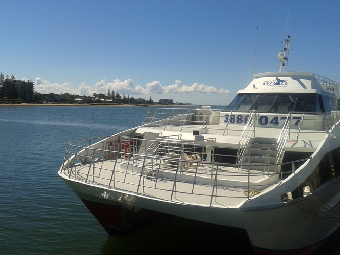 Cruise Boat at Redcliffe Jetty