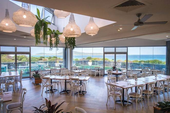 saltwater restaurant, fingal bay, NSW, port stephens, nelson bay, fingal bay, restaurant with views, NSW, best views, water views, fingal bay things to do, dining, cafes, dinner, lunch, breakfast,