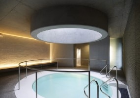 Sanctuary salt therapy pool, Hepburn bathhouse