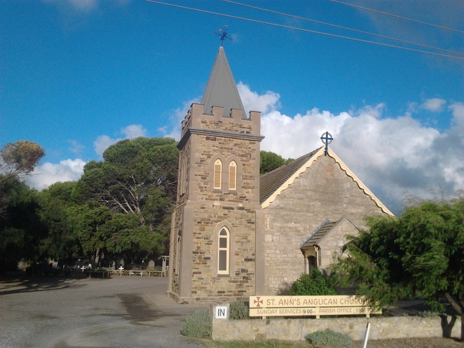 St Ann's Anglican Church, Aldinga, South Australia, historic church