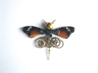 steampunk butterfly Redcliffe exhibition art