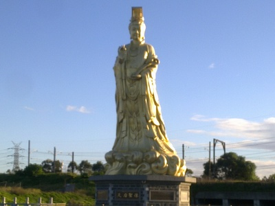 Temple Statue Front