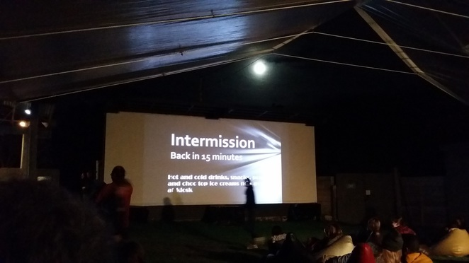 tidal river open air cinema
