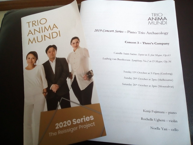 Trio Anima Mundi brochure
