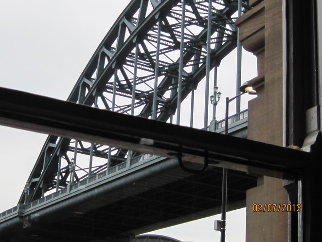 Tyne Bridge from the Quayside