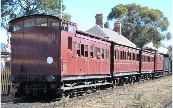 Victorian Colonial Express Goldfields Railway