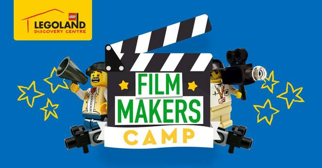 virtual lego filmmakers camp, community event, fun things to do, family, fun for kids, legoland discover centre melbourne, school holiday activity for kids, buding builders, hands on lego course, creativity, stop motion movie making with lego