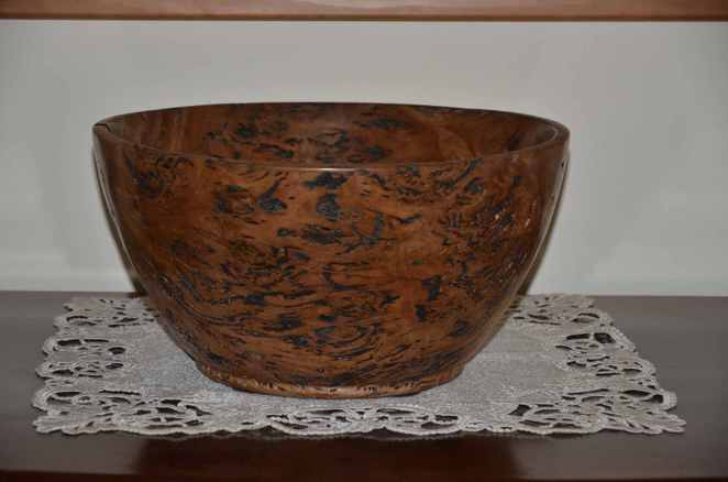 Woodturners Bowl from Garden Show