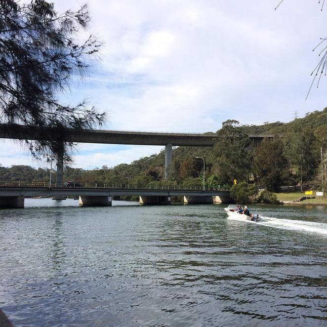 woronora, the bridge, restaurant, the shire, river, nature