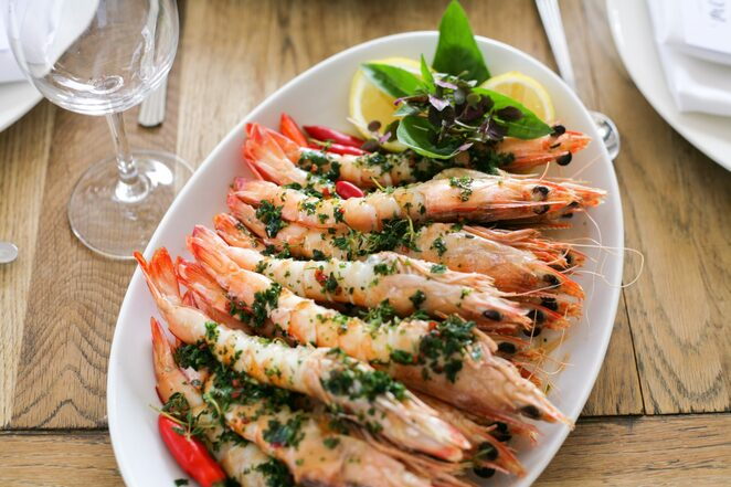 Yamba prawns, Watsons Bay Boutique Hotel