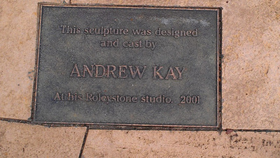 Andrew Kay, designed and cast this sculpture