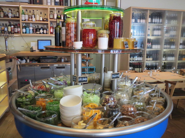 A Hereford Beefstouw, Salad Bar, Adelaide