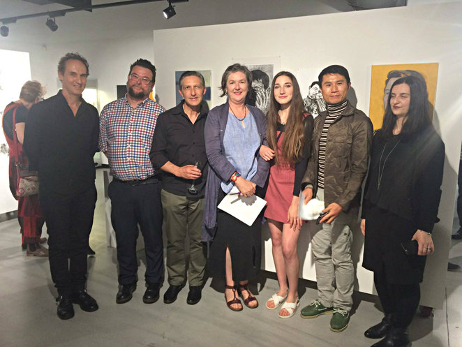 art exhibition, victoria university, diploma of visual arts graduates, metrowest, richard ennis, dr fiona myer, myer foundation awards, fun things to do, metrowest, community event, artists, footscray