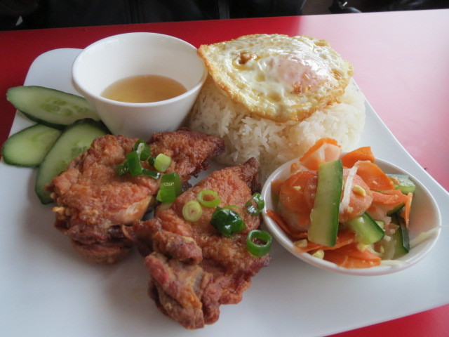 Aumbo Khmer, Crispy Chicken with Rice, Adelaide