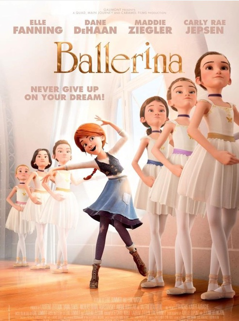 Ballerina movie film poster