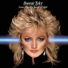 bonnie tyler, faster, speed, night, cd, album, cover