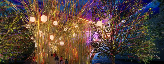 Brisbane Festival, Southbank, Lights festival, Brisbane Airport Light Garden, whats on in brisbane, school holiday activities