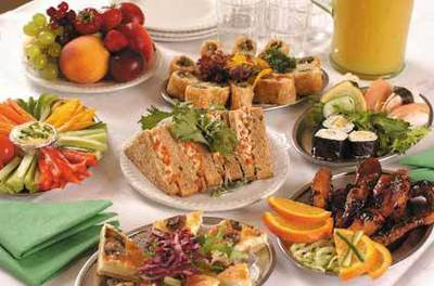 Global Gourmet Party Food (image is sourced from photobucket)