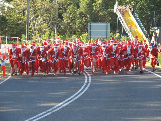 Christmas in Cooroy great santa race