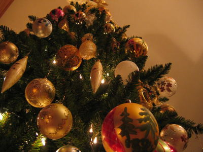 christmas tree, christmas decorations