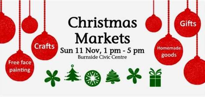 City Of Burnside Civic Centre, Christmas shopping, market fare, crafts, homemade goods, giftware, Burnside Village shopping centre, library, family, pageant