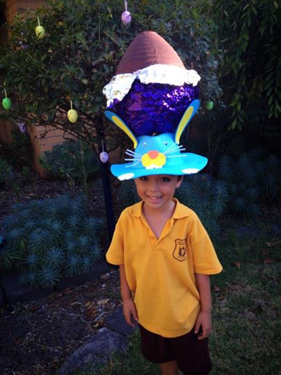 Easter hat, free easter melbourne kids