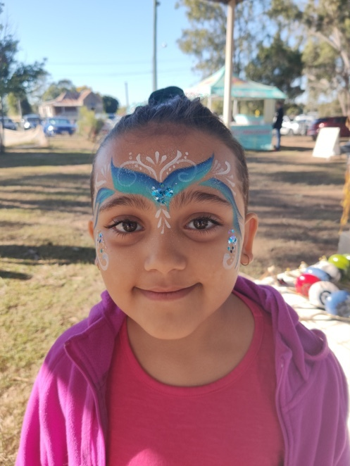 face, painting, free, facepainting, walloon, market, ipswich, sunday, monthly