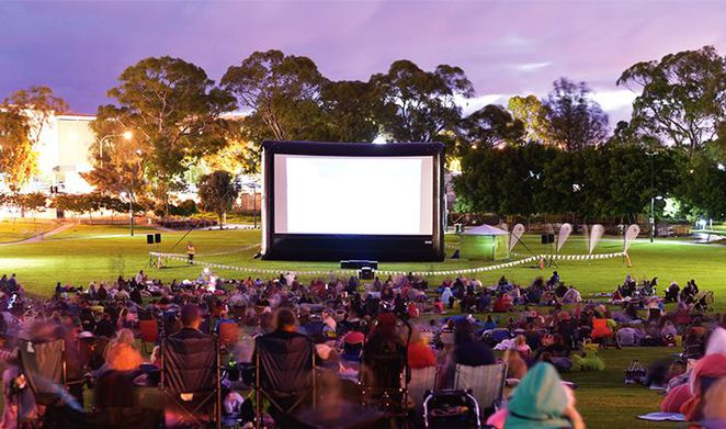 free outdoor movies in Adelaide, free outdoor movies, free outdoor cinema, fun things to do, fun for kids, free movies, free screening, marion cultural centre, civic park, tea tree gully
