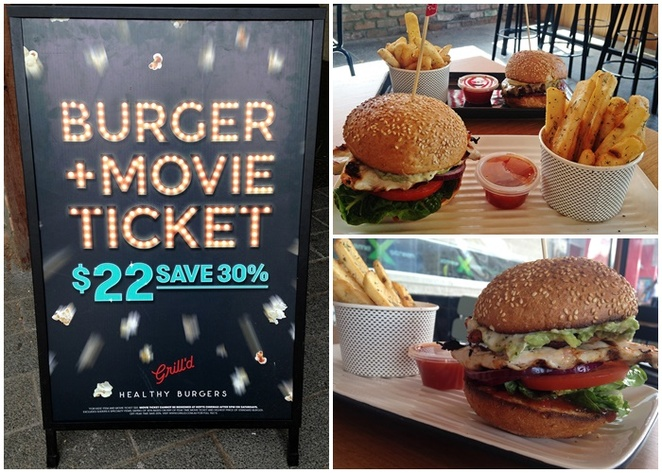 grilld, canberra, woden, belconnen, ACT, hoyts, movie deal, burgers, westfield shopping centres, dinner, lunch