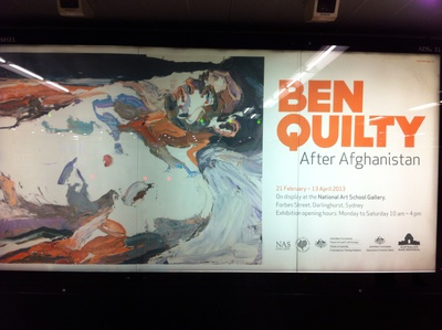 Ben Quilty After Afghanistan Exhibition 2013