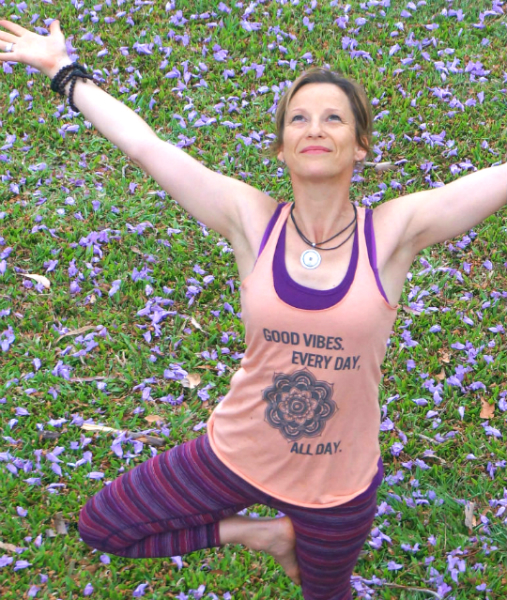 Jill -our yoga instructor