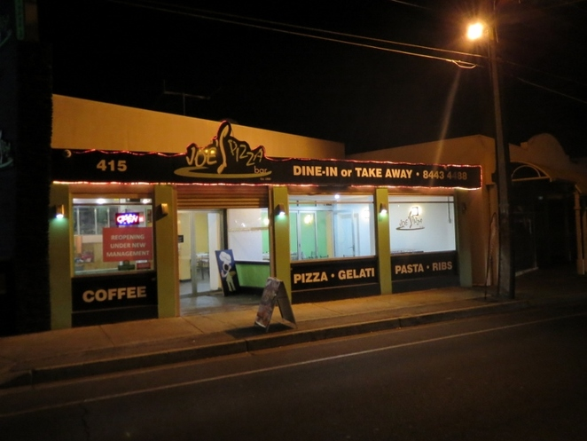 Joe's Pizza Bar, Adelaide