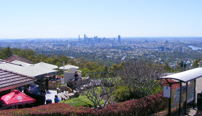 Kuta Cafe and Lookout on Mt Coot-tha