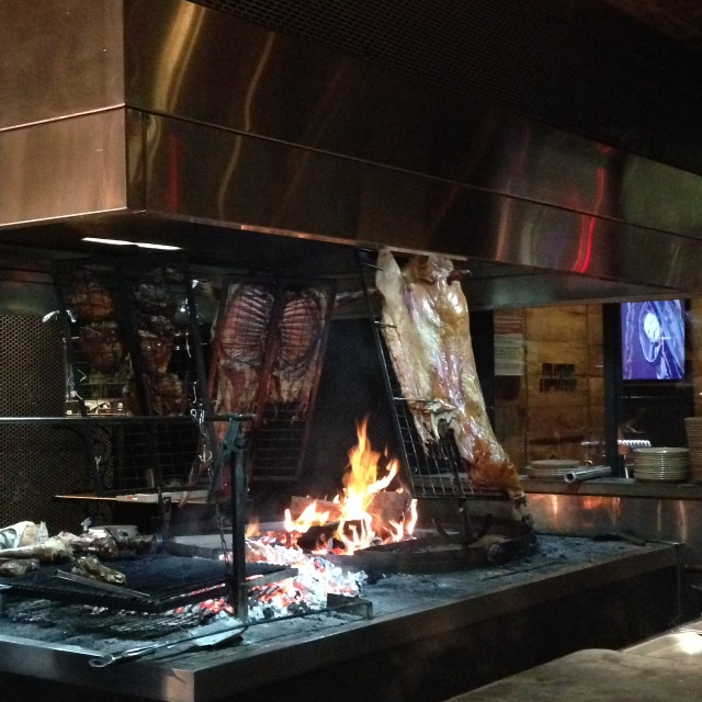 La Boca Bar and Grill restaurant adelaide north terrace eatery lunch dinner Argentinian open fire pit asador meat lovers carnivore