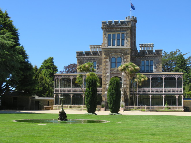 Larnach Castle, Dunedin, New Zealand, Castle, Gardens, Cafe, Coffee,