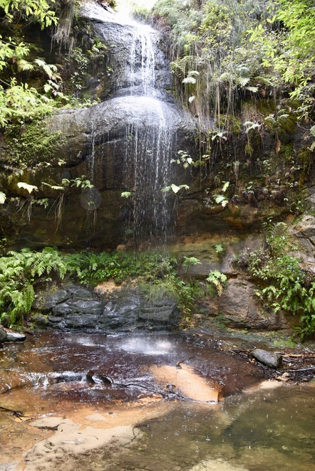 Lawson Waterfall Circuit, Blue Mountains, Jade Jackson Photography, Lawson Bushwalk, waterfall