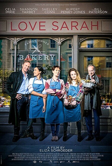 love sarah film review 2020, eliza schroeder, jake brunger, mahalia rimmer, rupert penry-jones, celia imrie, bill paterson, shelley conn, shannon tarbet, date night, night life, entertainment, cinema, movie buff, film review, movie review, performing arts