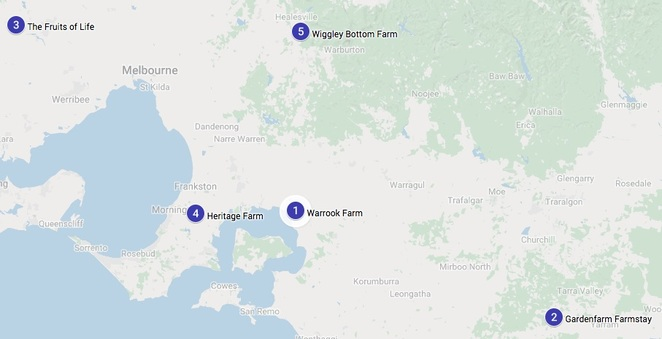Map Farms Victoria