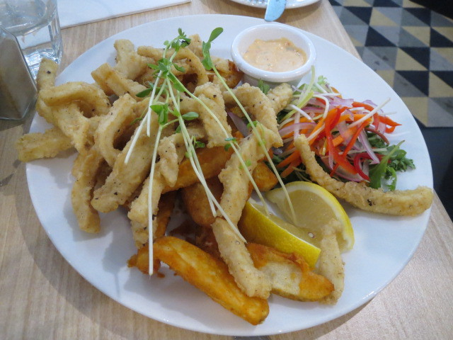 Mawson Lakes Hotel Bistro, Salt and Pepper Squid, Adelaide