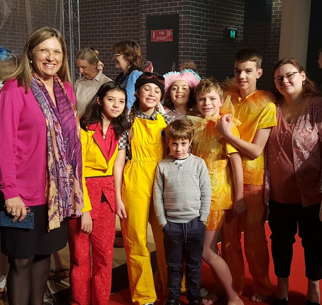 Maya and the Sea Dragon, Marian Street Theatre For Young People, MSTFYP, Wendy Blaxland, theatre review, kids theatre, children's theatre, Know Grammar, Know Cultural Centre, school holidays, plays, things to do with kids, sea dragons, sea horses