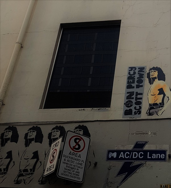 Melbourne, graffiti, ACDC Lane, walking tour