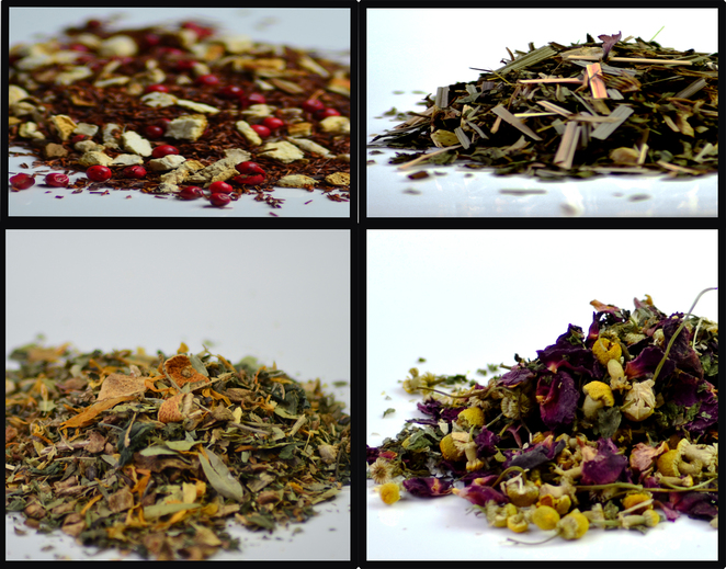 Organic tea blends hand blended tea