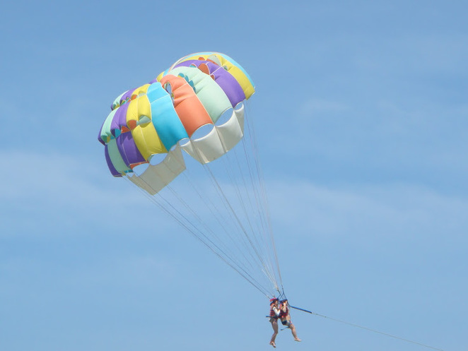 colourful parasail