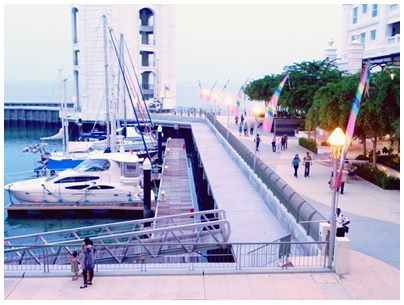 Penang, Straits Quay, Marina Harbour, attraction, boardwalk